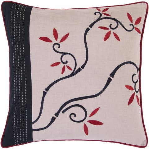 Smithsonian : Decorative Horsham 18-inch Poly or Feather Down Filled Throw Pillow