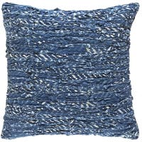 Decorative Kwai 18-inch Poly or Feather Down Filled Throw Pillow