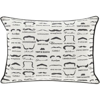 Decorative Padstow Poly or Down Filled Throw Pillow (13 x 19)