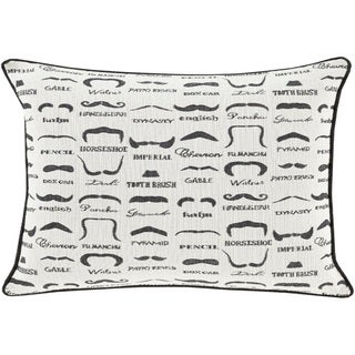Decorative Padstow Poly or Feather Down Filled Throw Pillow (13 x 19)