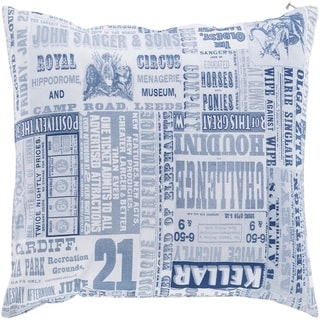 Decorative Mile 20-inch Poly or Feather Down Filled Throw Pillow