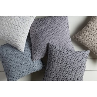 The Gray Barn Windy Oaks 18-inch Poly or Down Filled Throw Pillow