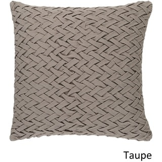 Decorative Nuys 18-inch Poly or Down Filled Throw Pillow