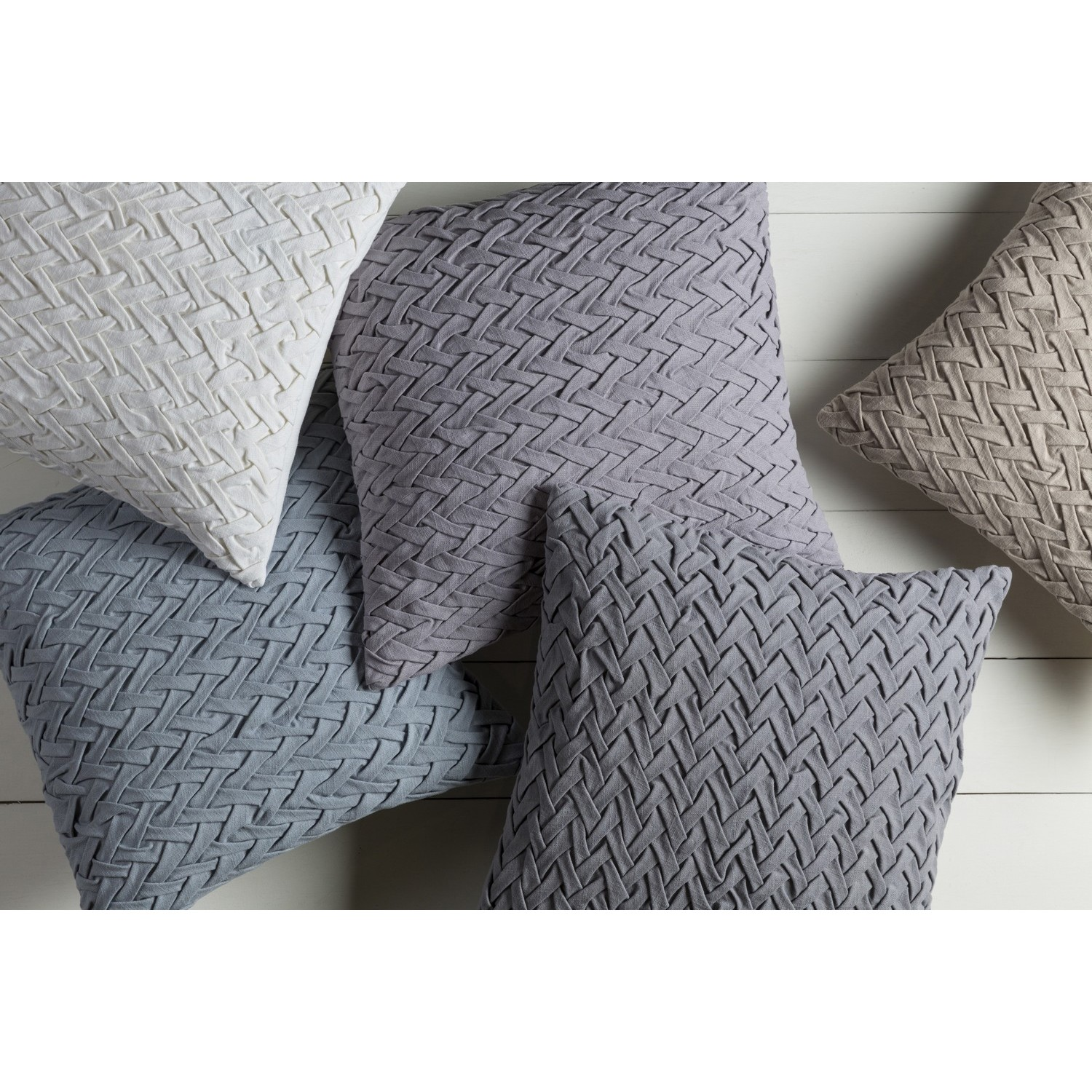 Shop Decorative Nuys 18 Inch Poly Or Down Filled Throw