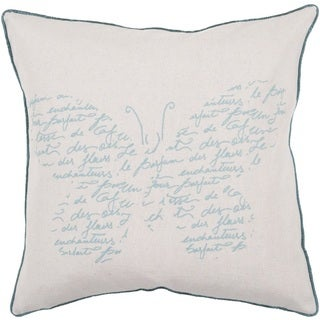 Decorative Paulina 22-inch Poly or Down Filled Throw Pillow