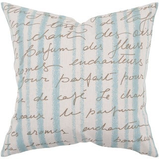 Decorative Nichole 22-inch Poly or Down Filled Throw Pillow