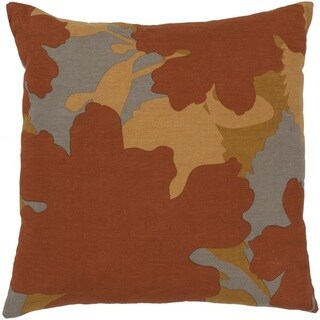 Jef Designs : Decorative Pauline 22-inch Poly or Down Filled Throw Pillow