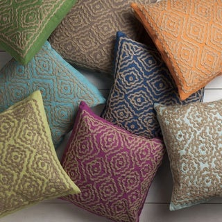 Beth Lacefield: Decorative Lynch 22-inch Poly or Down Filled Throw Pillow