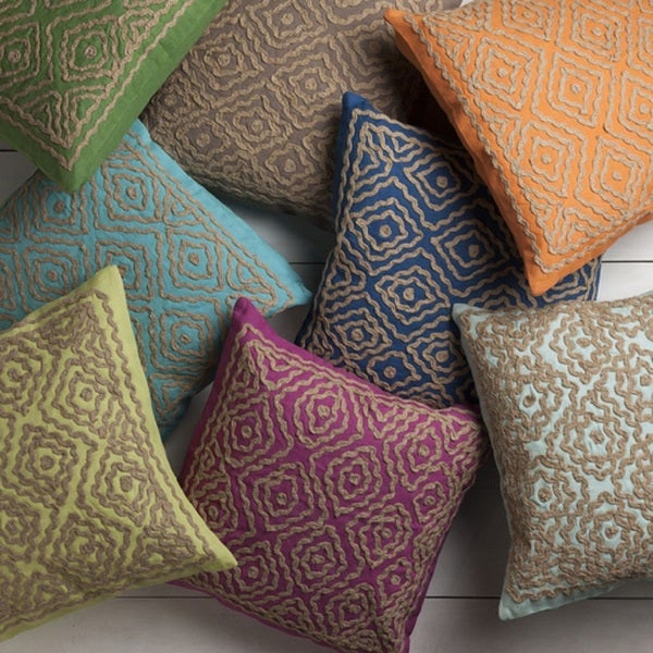 Beth Lacefield: Decorative Lynch 20-inch Poly or Feather Down Filled Throw Pillow