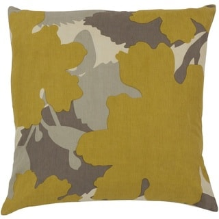 Jef Designs: Decorative Marshall 18-in. Poly or Down Filled Throw Pillow