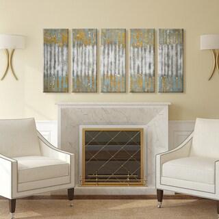 Ready2HangArt 'Driftwood' by Norman Wyatt Jr. 5-piece Wrapped Canvas Art Set