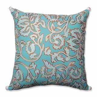 Pillow Perfect Ellie Belize-Citrus 18-inch Throw Pillow