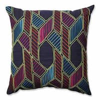 Pillow Perfect Graphic Geometric Multi 18-inch Throw Pillow
