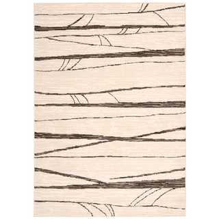 Michael Amini Glistening Nights Ivory Area Rug by Nourison (7'9 x 10'6)