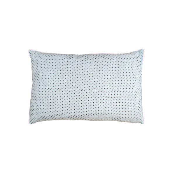100 Percent Well Selected Fine Cotton Comfortable Polka Dot Design 20 x 30-inch Decorative Pillow Shams (Pack of 2)
