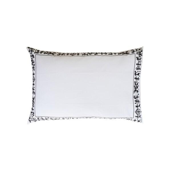 100 Percent Cotton Decorative Pillow Shams-Tribal Men Design(Pack of 2)