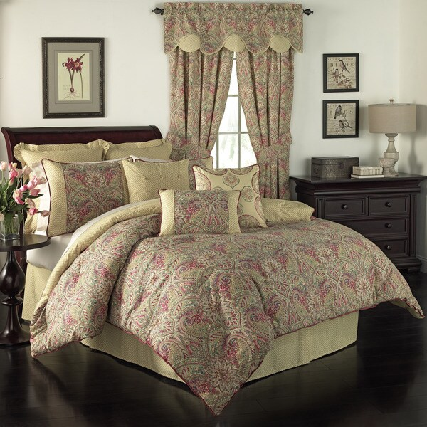Waverly Swept Away Paisley Comforter Set