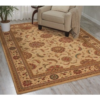 Nourison Living Treasures Ivory Rug (8'3 x 11'3)