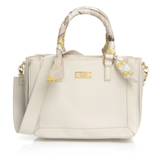 BCBG Paris Scarf Satchel Handbag