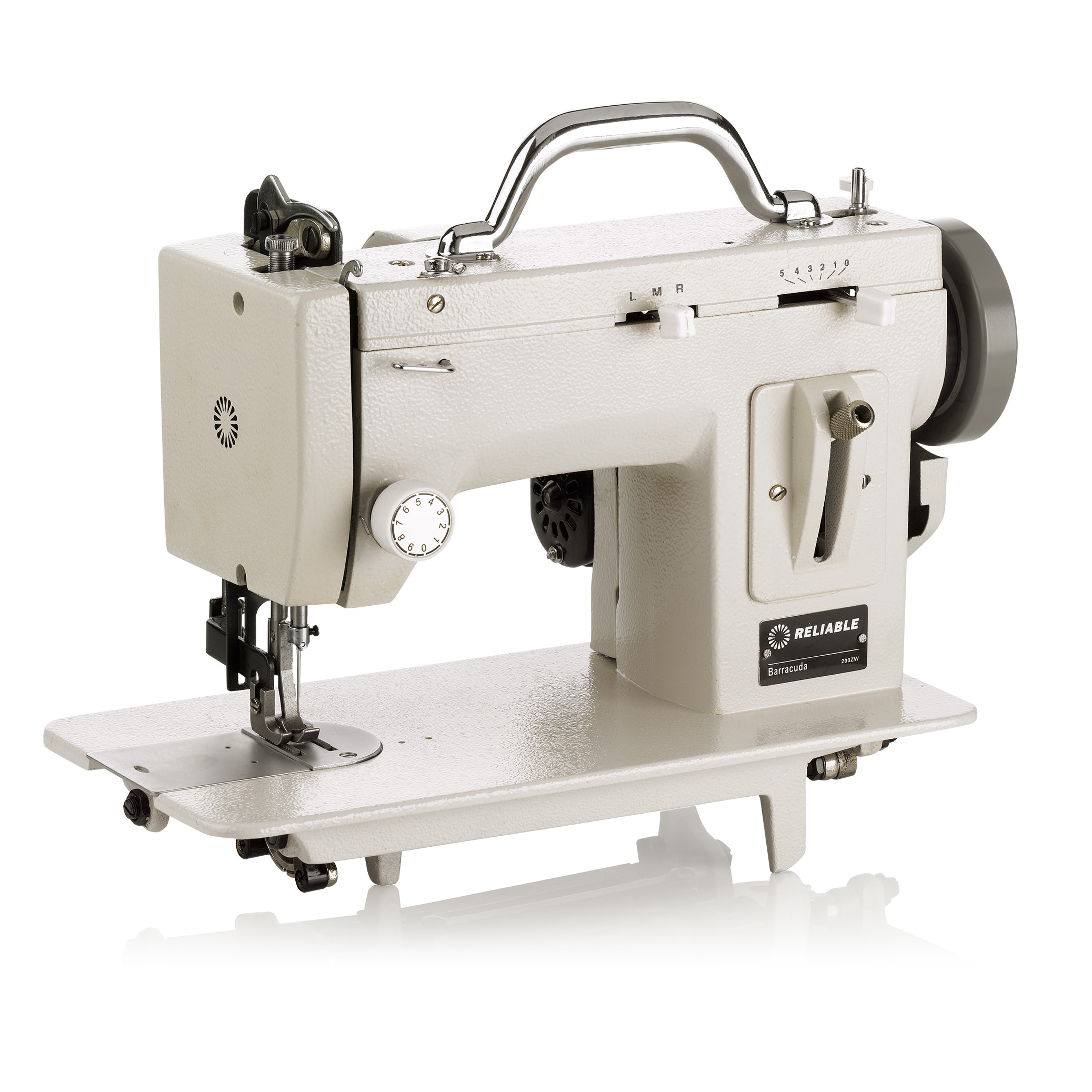 Reliable Barracuda 200ZW Portable Zig-zag Sewing Machine ...