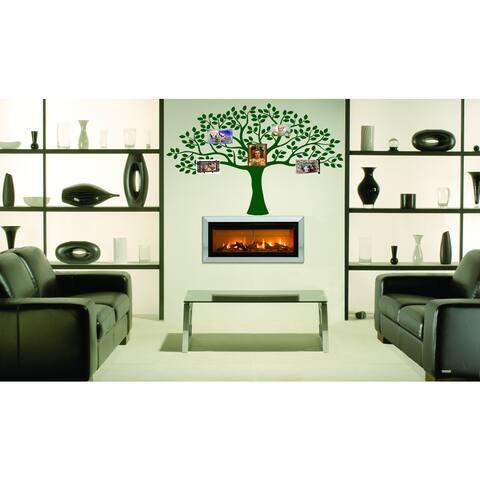 Beautiful Family tree Wall Art Sticker Decal Green