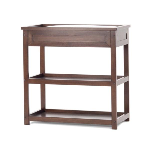 Child Craft Abbott Walnut Brown Wood Dressing Table