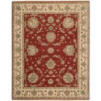 Nourison Legend Red Rug (8'6 x 11'6) - 8'6 x 11'6