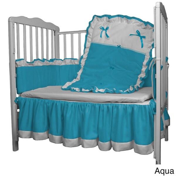 Mint BabyDoll Regal Cradle Bedding Set