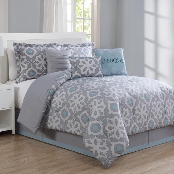 Unique Medallion 7-piece Comforter Set