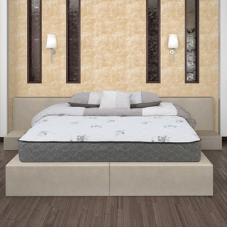 Wolf Endless Nights Queen Size Wrapped Coil and Memory Foam Hybrid Firm Mattress