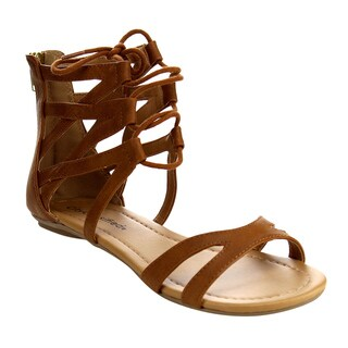 Beston Women's IB48 Strappy Gladiator Sandals