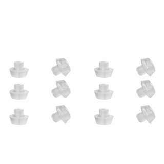 Clear Rubber Earring Backs Set of 6 Pairs