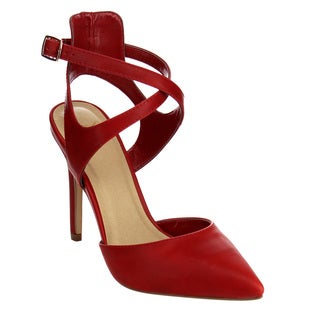 Beston Women's IB52 Strappy Stiletto Heel