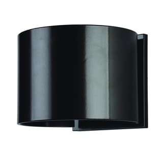 Access Lighting Curve Bronze LED Outdoor Wall Light