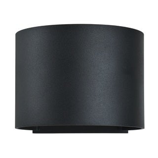 Access Lighting Curve Black LED Outdoor Wall Light