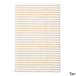 Men's Cotton Seersucker Stripe Pocket Square
