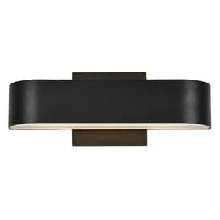 Access Lighting Montreal Black LED Outdoor Wall Light