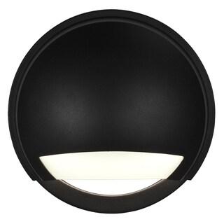 Access Lighting Avante Black LED Outdoor Wall Light