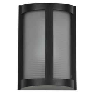 Access Lighting Pier Black LED Outdoor Wall Light