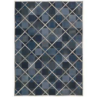 Barclay Butera Cooper Indigo Area Rug by Nourison (8' x 11')