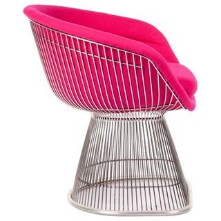 Hans Andersen Home Pella Grey/Pink Wool Armchair