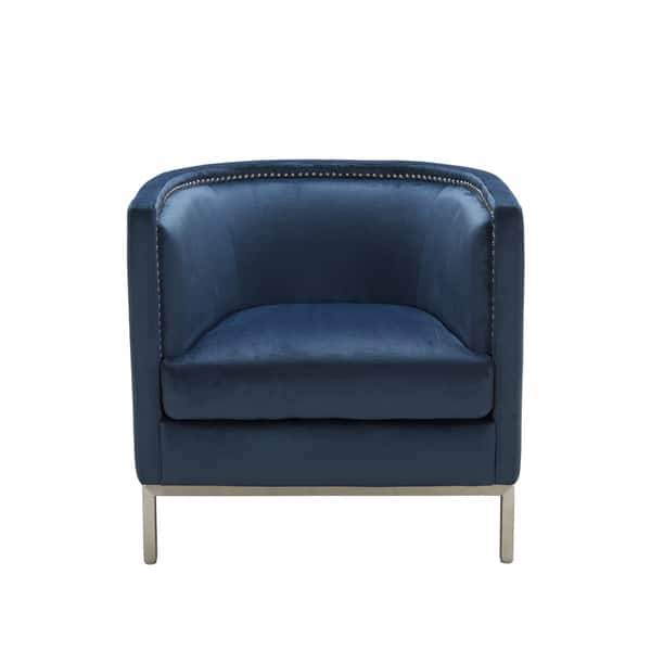 Shop Sunpan Wales Ink Blue Armchair On Sale Free Shipping Today