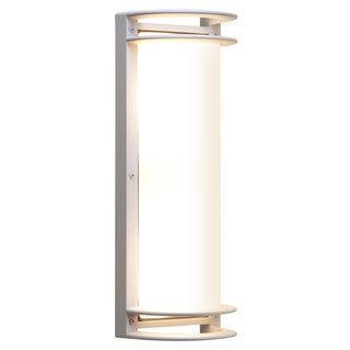 Access Lighting Bermuda Satin LED 2 Light Outdoor Bulkhead Wall Light