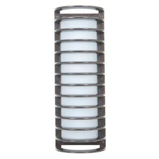 Access Lighting Bermuda Satin 17 inch Outdoor Bulkhead Wall Light