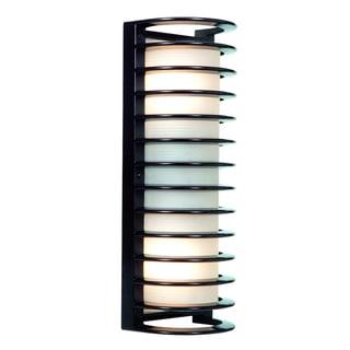 Access Lighting Bermuda Bronze 17 inch LED Outdoor Bulkhead Wall Light