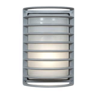 Access Lighting Bermuda Satin 11 inch Outdoor Bulkhead Wall Light