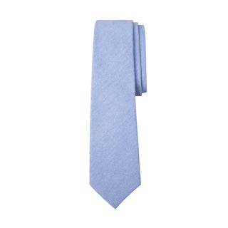 Oxford Blue or Yellow Cotton Tie