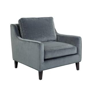 Sunpan Hanover Granite Fabric Armchair