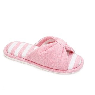 Memory Foam Cotton Knot Slippers for Women