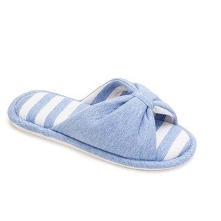 Memory Foam Cotton Knot Slippers for Women